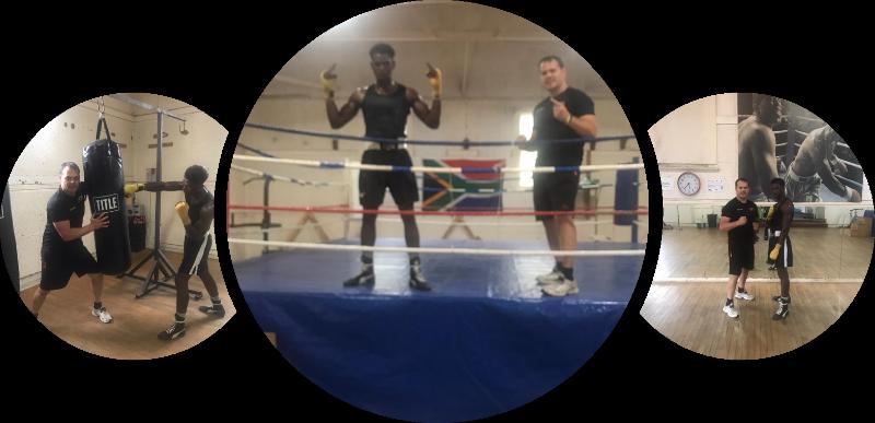 Claudio Chiste Boxing Training